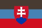 Flag of Trenčín (Luna Earth II)