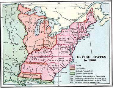 the national feelings and expansionism of the us from 1800 to 1840