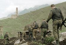 Российские войска патрулируют сельские районы