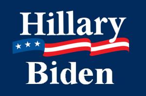 Clinton-Biden Ticket 2008 Logo