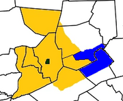 Map of the Commonwealth of Susquehanna 2018