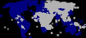 Members of the Concert of Democracies (President McCain)