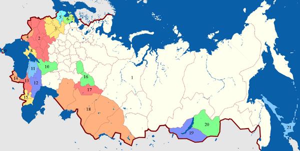 Автономии РДФР (МРГ)