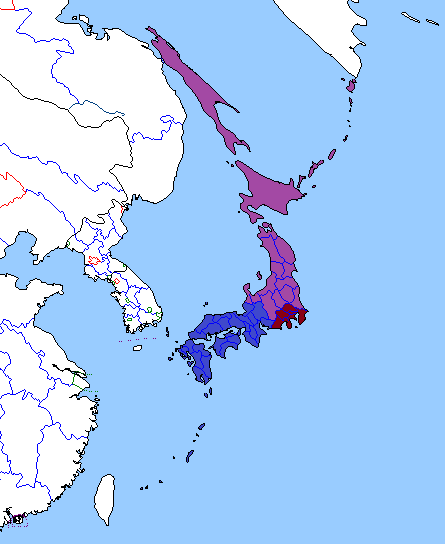 Image Map Of Japan Yellowstone Png Alternative - Japan map png