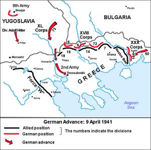 Nazi Invasion of Greece