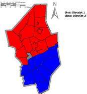 Columbia County Districts for the Senate