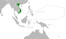Location of Vietnam (Myomi Republic)