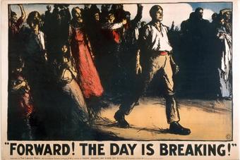 Плакат лейбористов