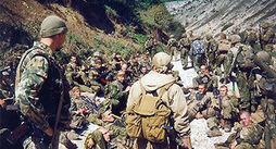 Российские войска перед последним наступлением
