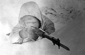 A Swedish volunteer in the Winter War, Finland, 1940