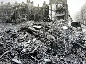 Althist Bomb Damaged Stepney