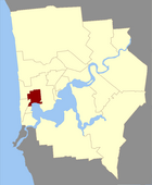 Map of Claremont County
