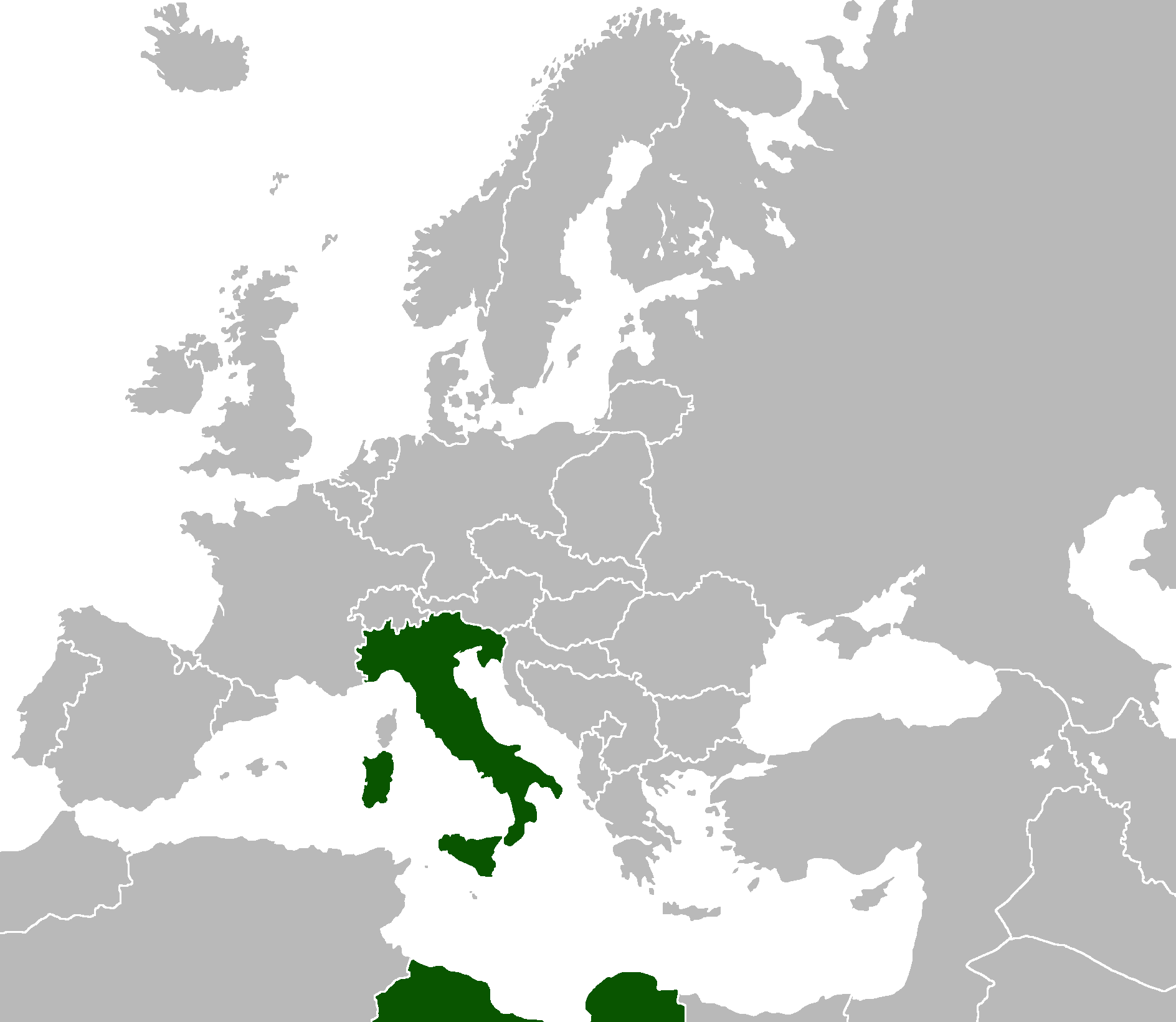 Italy a reich disunited alternative history fandom powered by location of italy gumiabroncs Images