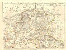 Jammu y Cachemira mapa