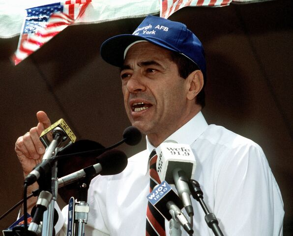 File:Mario Cuomo speaking at a rally, June 20, 1991.JPEG
