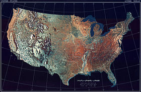 USA(TopographicalMap)