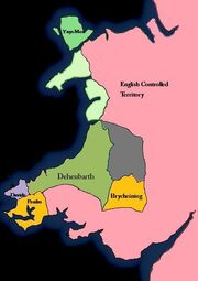 Wales End of 1718