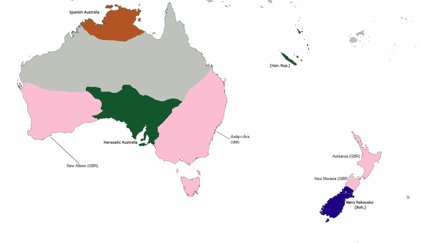 Image   Australia 1838 (Map Game).png | Alternative History
