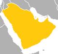 Location of Arabia (Satomi Maiden ~ Third Power).png