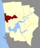 Map of Cambridge County