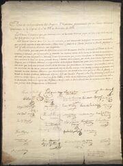 Acta Independencia Mexico 1821