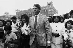 Cuauhtémoc Cárdenas campaña 1988