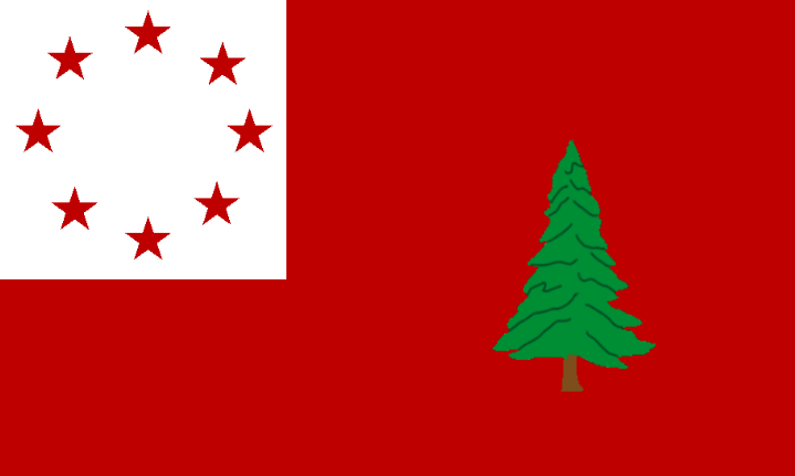New England Confederation Flag Yel 1936 Png