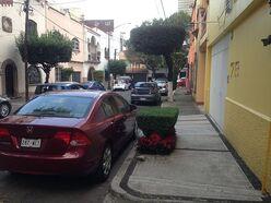 Calle de Bahía de Montejo, colonia Verónica Anzures, Ciudad de México, 2016