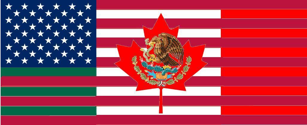 Image North American Union Flagjpg Alternative History - north flags