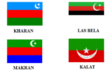Beluchistan banderas