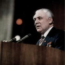 Владимир Щербицкий выступает