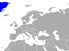 Mapa Dinamarca (UP)