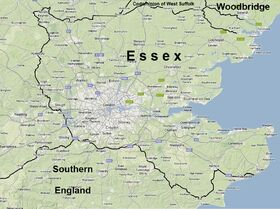 New Map of Essex