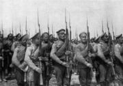 Russian White soldiers