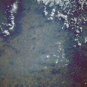 Smog boven mexico city november 1985