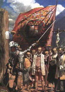 Испанцы в Лиме