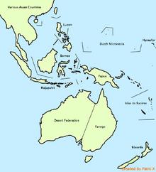 Agent australasia map