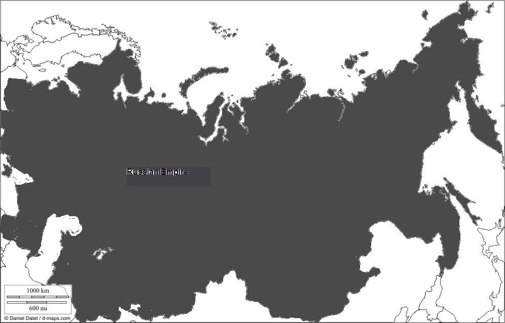 Image The map of the Russian Empirejpg Alternative History