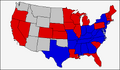 1876 United States Presidential Election Map (Similar Yet Different).png