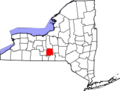 200px-Map of New York highlighting Tompkins County svg.png
