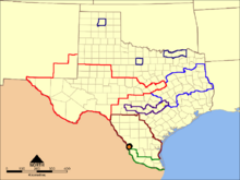 2011 1983DDTexas map