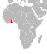 Costa de Oro mapa