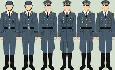 Die lufwaffe parade uniforms2
