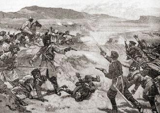 Бой с афганцами