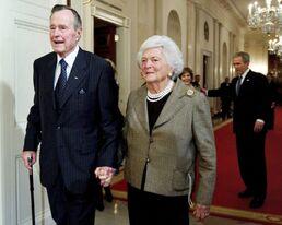 Bush family 2009