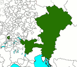 Austria The Once And Never Kings Alternative History FANDOM - Austria location