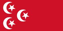 Bandera Egipto (1882-1922)