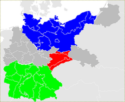 German Empire South Germany and Saxony