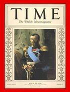 Николай II - человек года Time