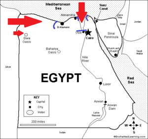 Nazi Invasion of Egypt